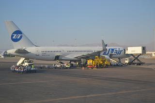 Boeing-757-200 of airline UTair at the airport of Sharm El-Sheikh