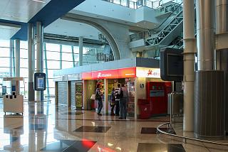 The post office in Porto airport