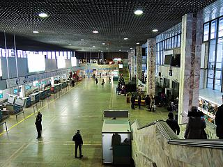 In the New terminal of the airport in Khabarovsk