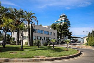 Control tower and administrative building of the airport Valencia