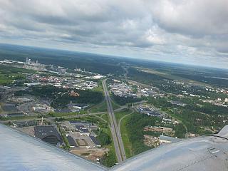 Flight over Lappeenranta