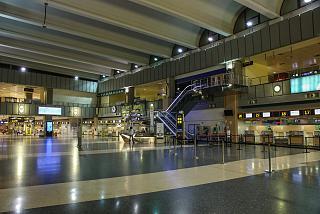 В аэровокзале аэропорта Валенсия