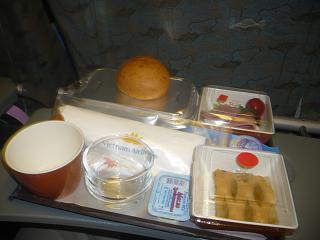Питание на рейсе Москва-Ханой Вьетнамских авиалиний