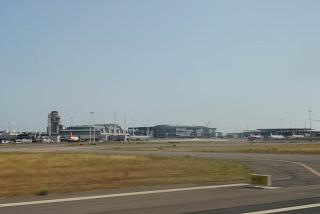 Terminal 3 and the construction sector D Rome Fiumicino airport