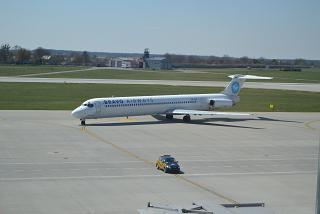 Самолет Дуглас МД-83 авиакомпании