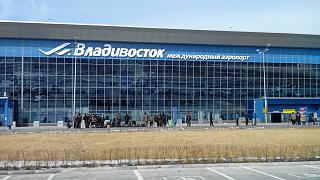 The terminal of Vladivostok airport Knevichi