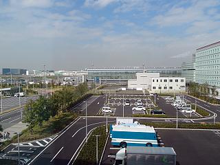 At the airport Tokyo Haneda