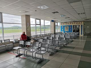 The waiting room at the airport Gorno-Altaysk