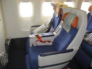 Seat comfort-class Boeing 777-300 Aeroflot