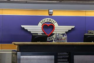 "The logo ""Love"" airline Southwest Airlines"