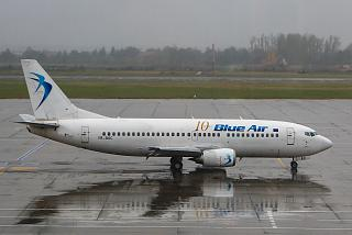 Boeing-737-300 YR-BAC airline Blue Air Bucharest airport