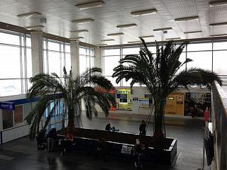 В аэровокзале аэропорта Волгоград Гумрак