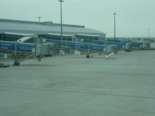 Terminal 1 of the airport Vaclav Havel in Prague