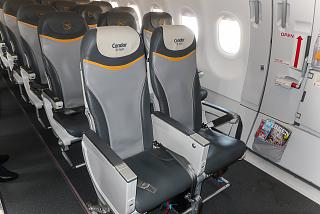 Condor XL passenger seats on Airbus A321