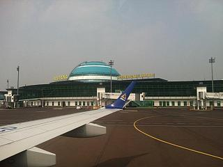 Пассажирский терминал аэропорта Астана