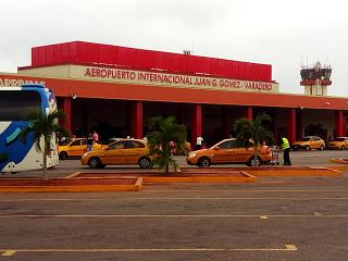 The terminal of the airport of Varadero