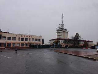 Здания аэропорта Тюмень Рощино