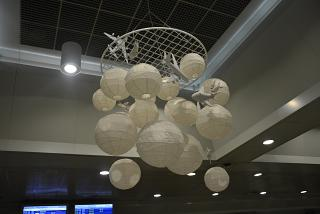 Installation at the airport of Thessaloniki Macedonia
