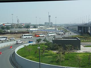Bus Parking at Delhi airport Indira Gandhi