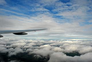 Облака рядом с Москвой