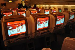 Бизнес-класс в самолете Боинг-777-300 авиакомпании Emirates
