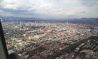 View of the center of Mexico city