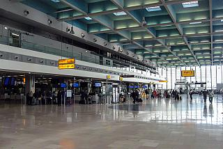 The reception area in Hall 1 of the airport of Marseille