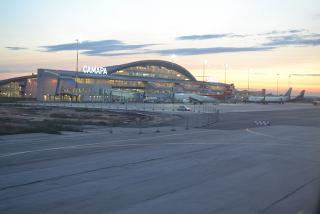 The new terminal of airport Kurumoch in Samara