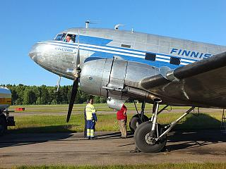 Самолет Douglas DC-3 Finnish Airlines