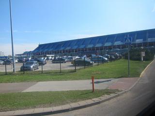 The passenger terminal of Tallinn airport