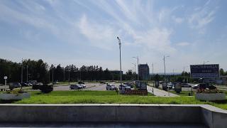 Привокзальная площадь аэропорта Благовещенск Игнатьево