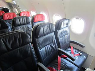 Seats in economy class in Airbus A321 Turkish airlines