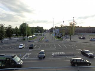 Привокзальная площадь аэропорта Вильнюс