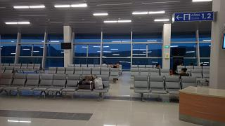 The waiting room in clean area of Phu Quoc airport