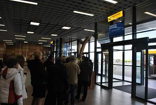 Выход на посадку в терминале А аэропорта Симферополь