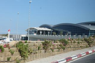The terminal of the airport Enfidha-Hammamet