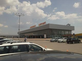 The domestic terminal of the airport Volgograd Gumrak