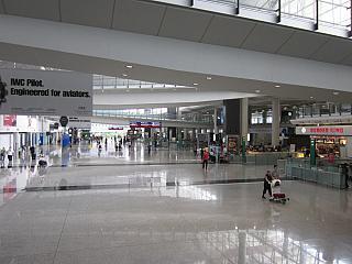 At terminal 1 Hong Kong airport