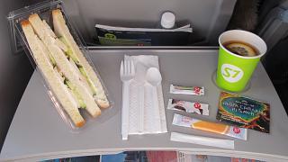 Бортпитание на рейсе S7 Airlines Токио-Владивосток
