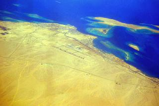 The Egyptian resort city of Hurghada