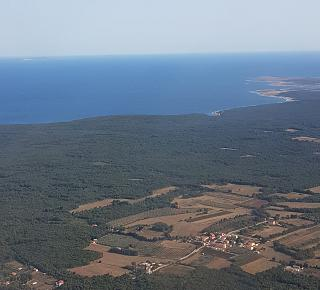 The Istrian Peninsula in the North of Croatia