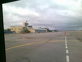 Старый пассажирский терминал аэропорта Самара Курумоч