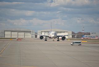 Boeing 777-300ER Aeroflot c number VQ-BQD Sheremetyevo airport