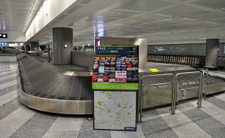 Лента выдачи багажа в терминале Т1 аэропорта Милан Мальпенса