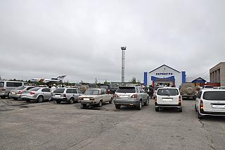 Привокзальная площадь в аэропорту Нерюнгри