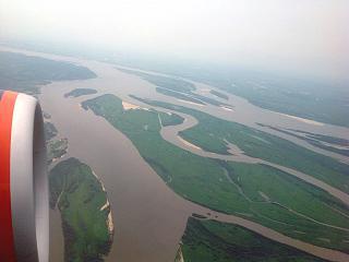 Amur river near Khabarovsk