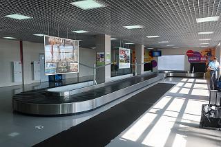 Зал выдачи багажа в аэропорту Томск
