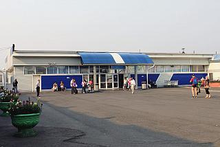 Pavilion, baggage claim (Terminal 3) airport Emelyanovo
