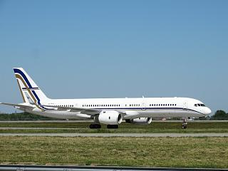 Boeing-757-200 SX-RFA GainJet airlines at the airport Kiev Borispol