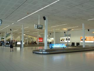 Baggage claim at the airport Adelaide